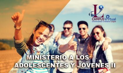 Curso 23 - ICED320 Ministerio a los Adolescentes y Jóvenes II